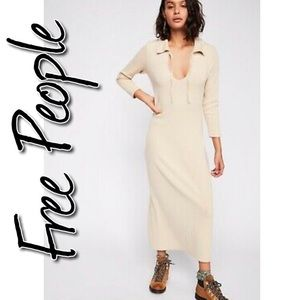 Free People Moonlight Maxi Dress NWT L